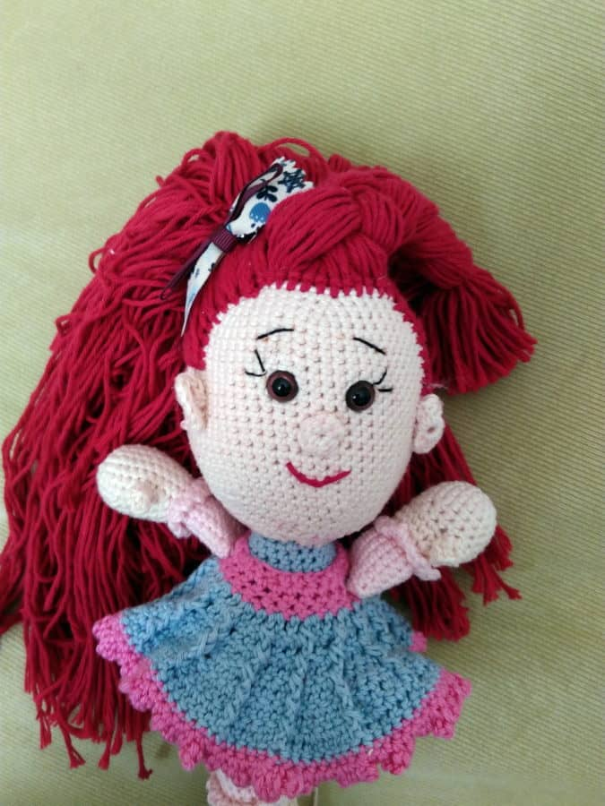 toy, wool, handmade,doll, object