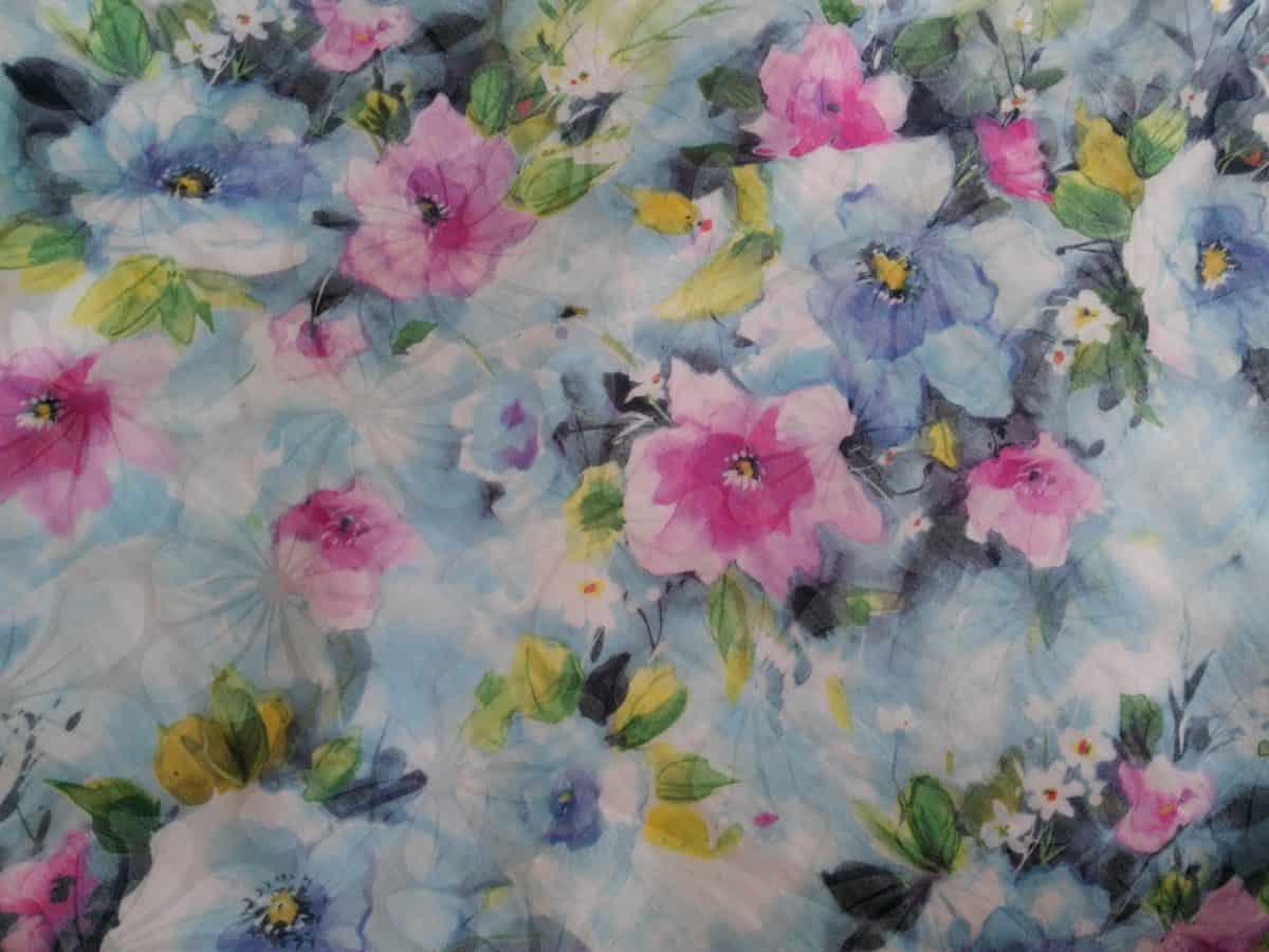 Textil, colorato, modello, flora, foglia, bella, fiore, arte, fazzoletto, cotone