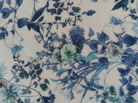 textile, leaf, flower, art, pattern, cotton, curtain, design, decor