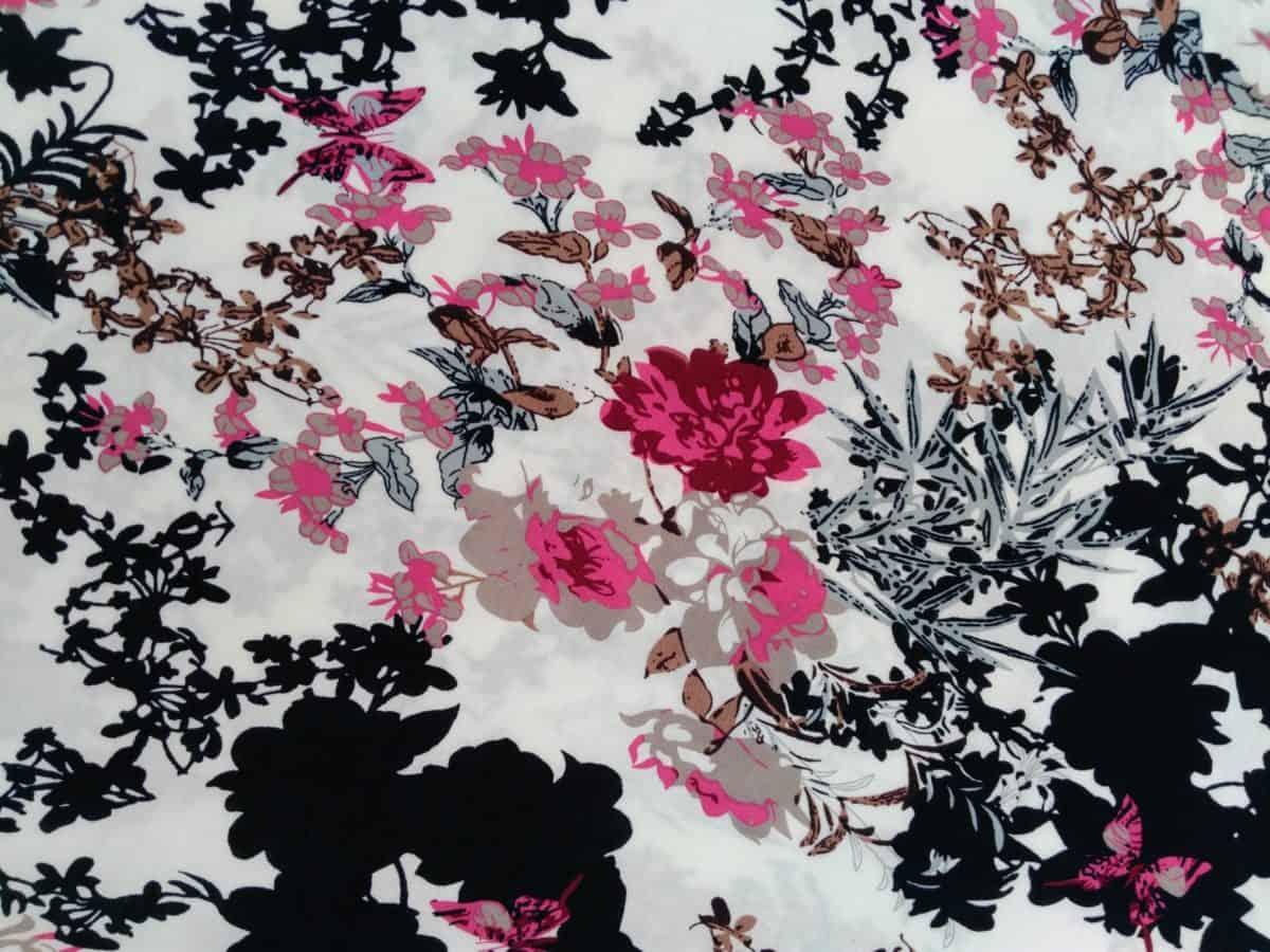 flower, graphic, illustration, design, leaf, cotton, grunge