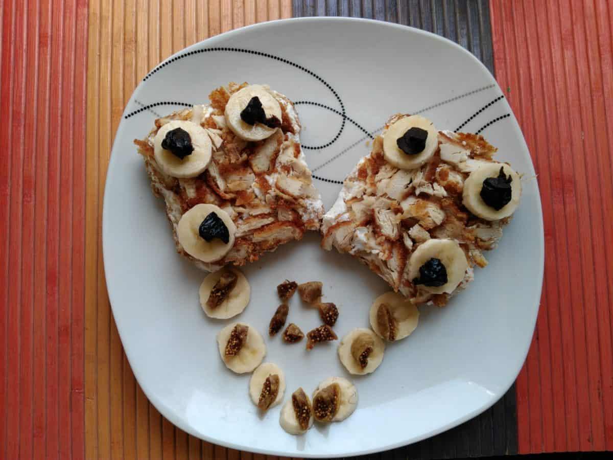 corazón, dulce, delicioso, comida, comida, mesa, dieta