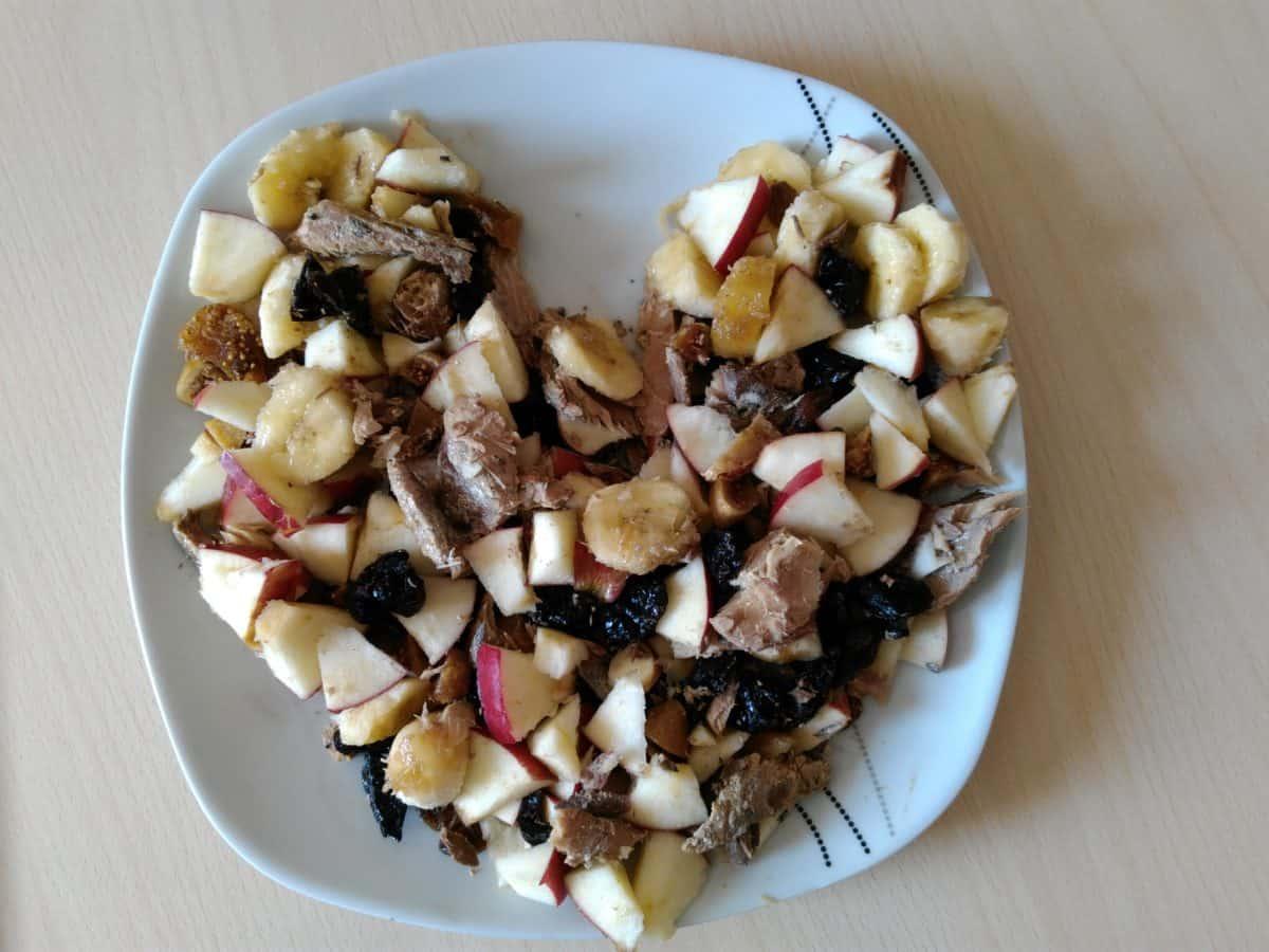 corazón, delicioso, frutales, orgánicos, alimentos, comida, plato, cena, almuerzo, verduras