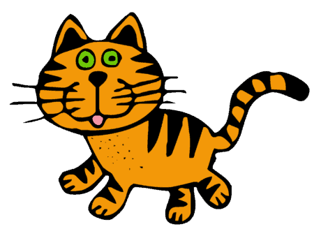 gatto, animale, disegno, forma, arte, grafica