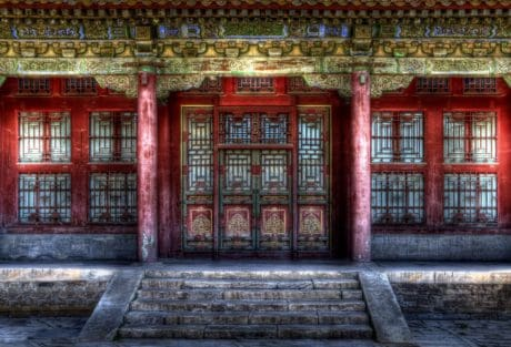 Japan, castle, facade, architecture, exterior, old, house, outdoor
