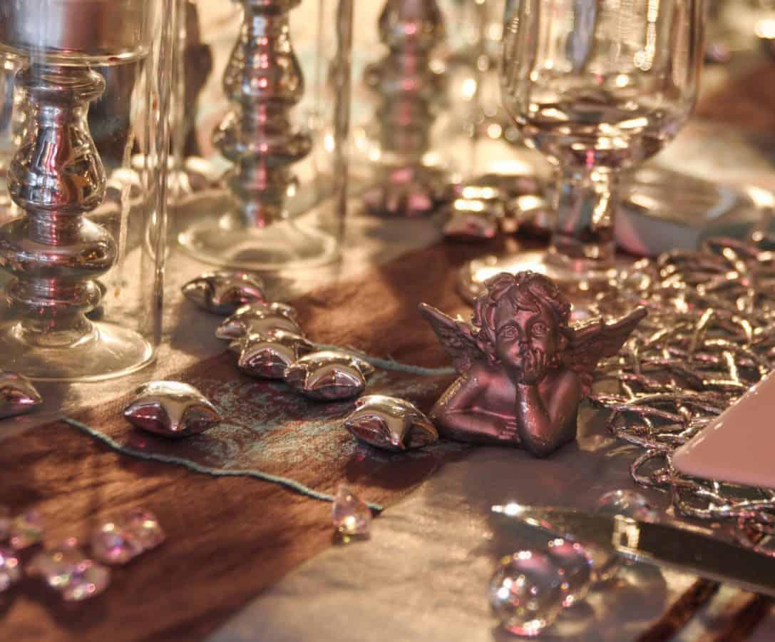 tableau, figure, ange, intérieur, objet de luxe,