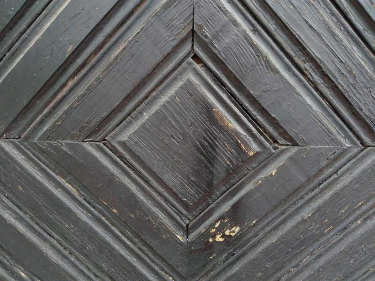 bois, ancienne, en bois brun, texture, art
