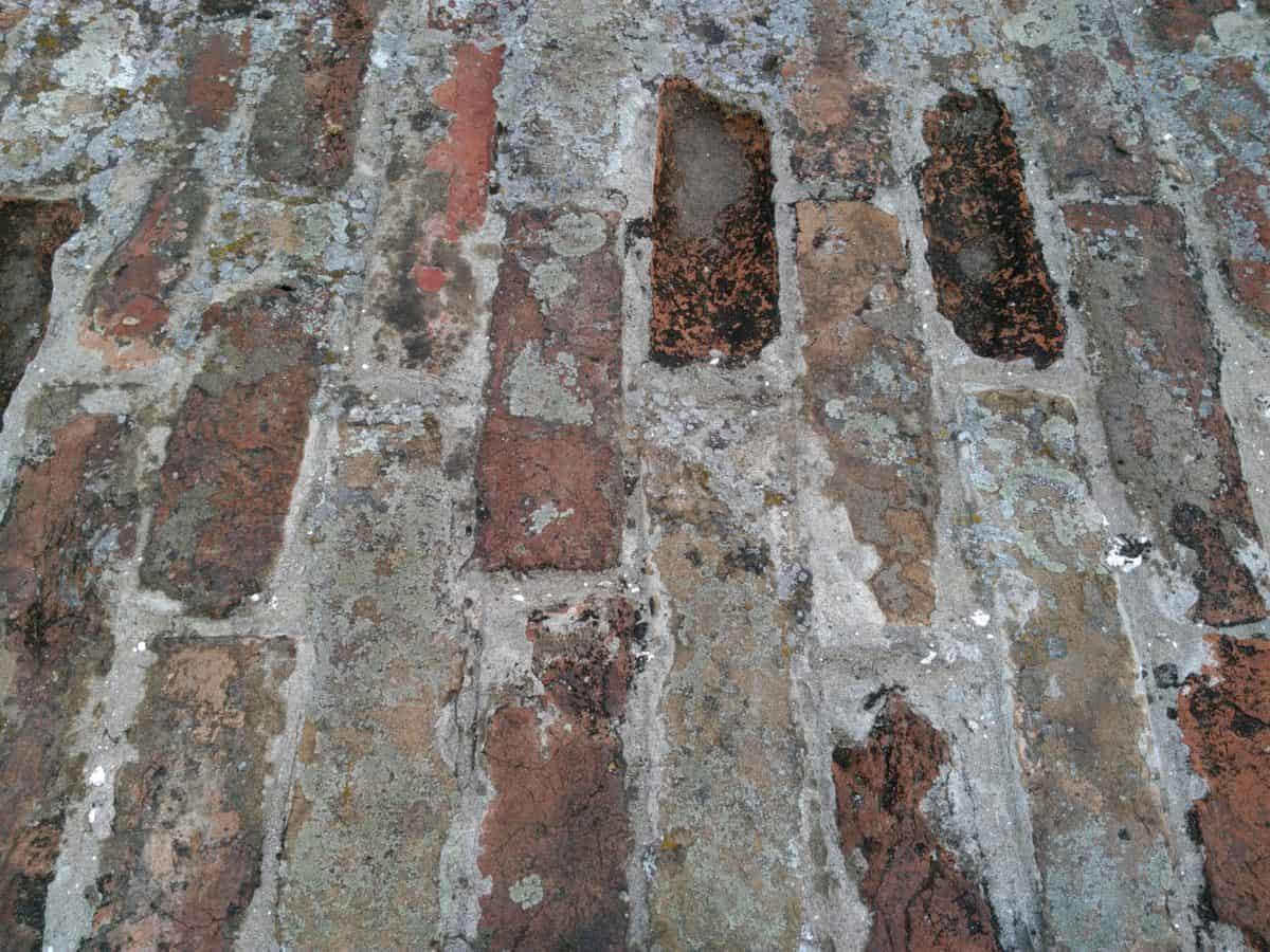 ladrillo, pared, patrón, textura, construcción de piedra, viejo,
