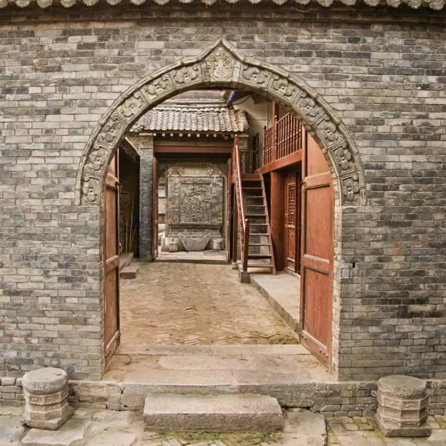 врата, стена, стари, архитектурата, къща, камък, Открит