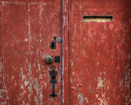 entrance, door, old, texture, gate, retro, steel, rust, iron