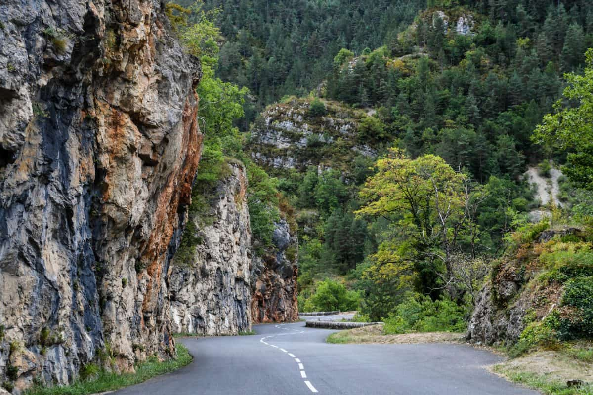 mountain, landscape, tree, nature, wood, outdoor, road