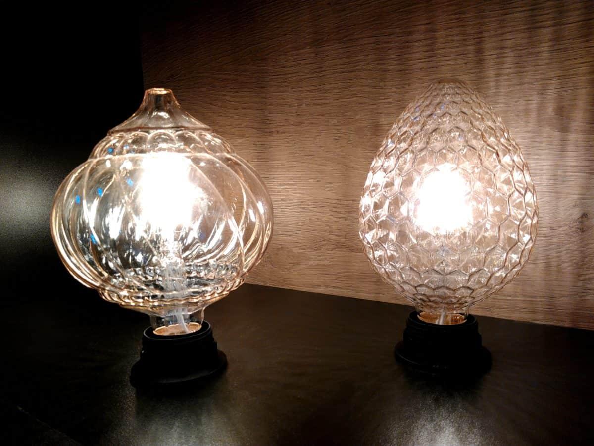 elettricità, lampada, vetro, ombra, calice, buio, coperta