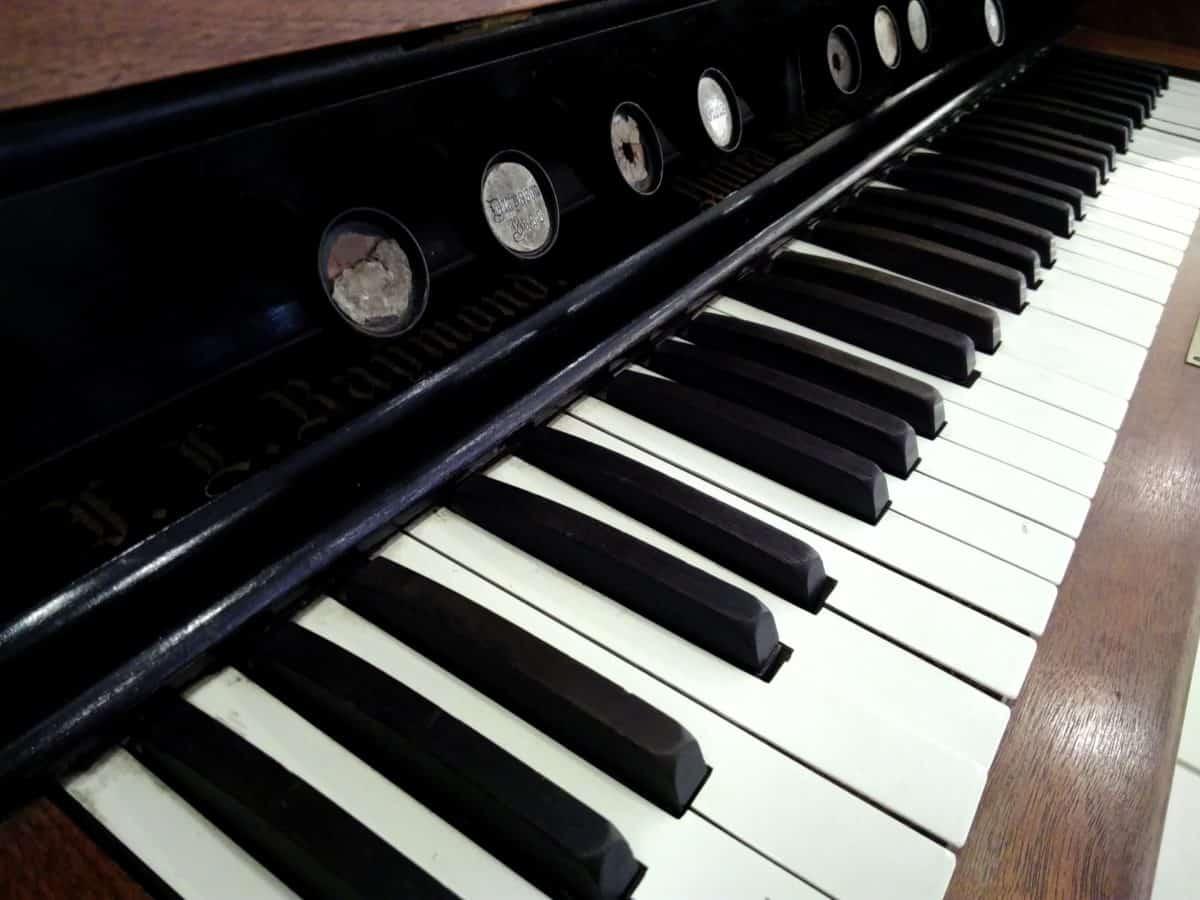 musica, strumento acustico, pianoforte, sintetizzatore, canzone, oggetto, dettaglio, suono