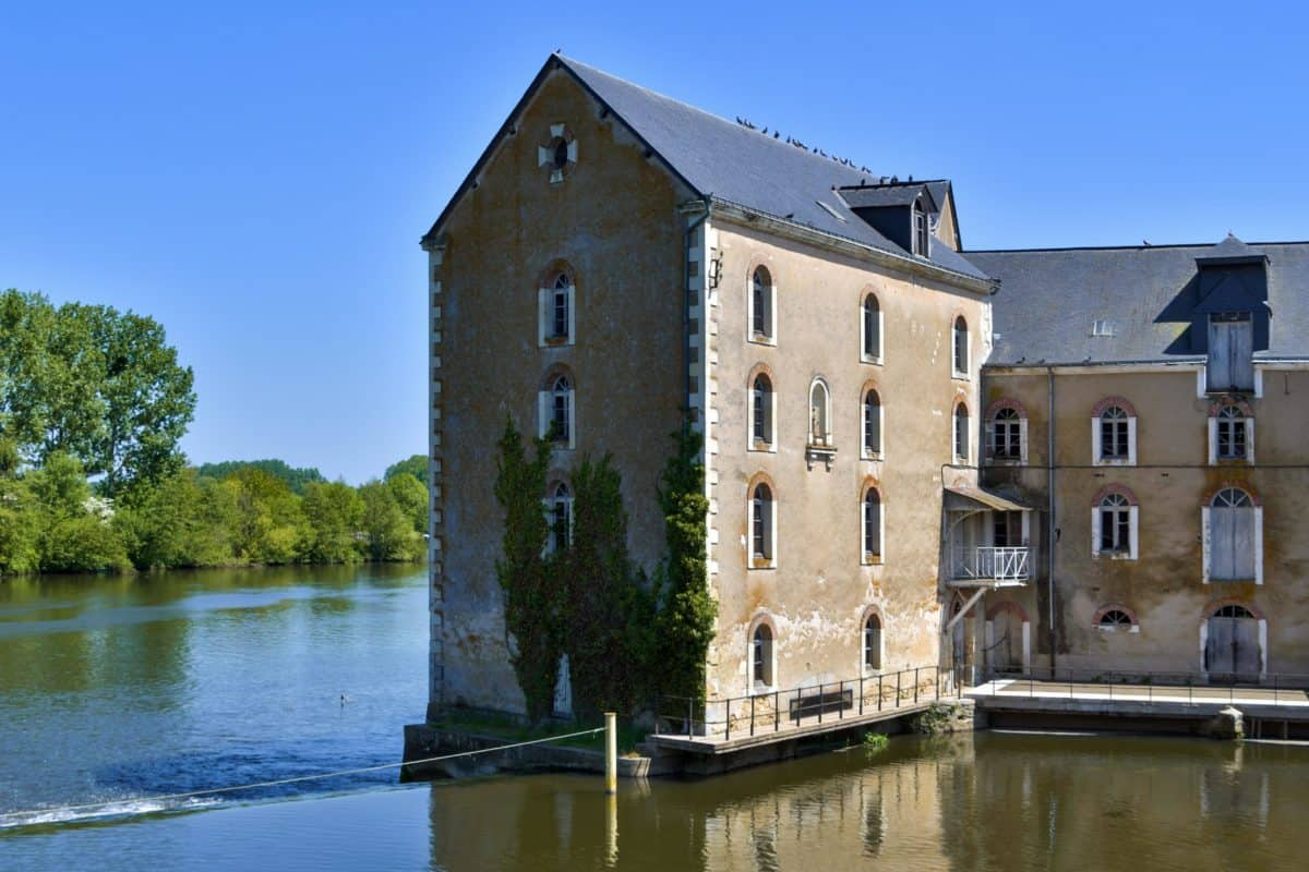 river, house, reflection, water, architecture, palace, castle