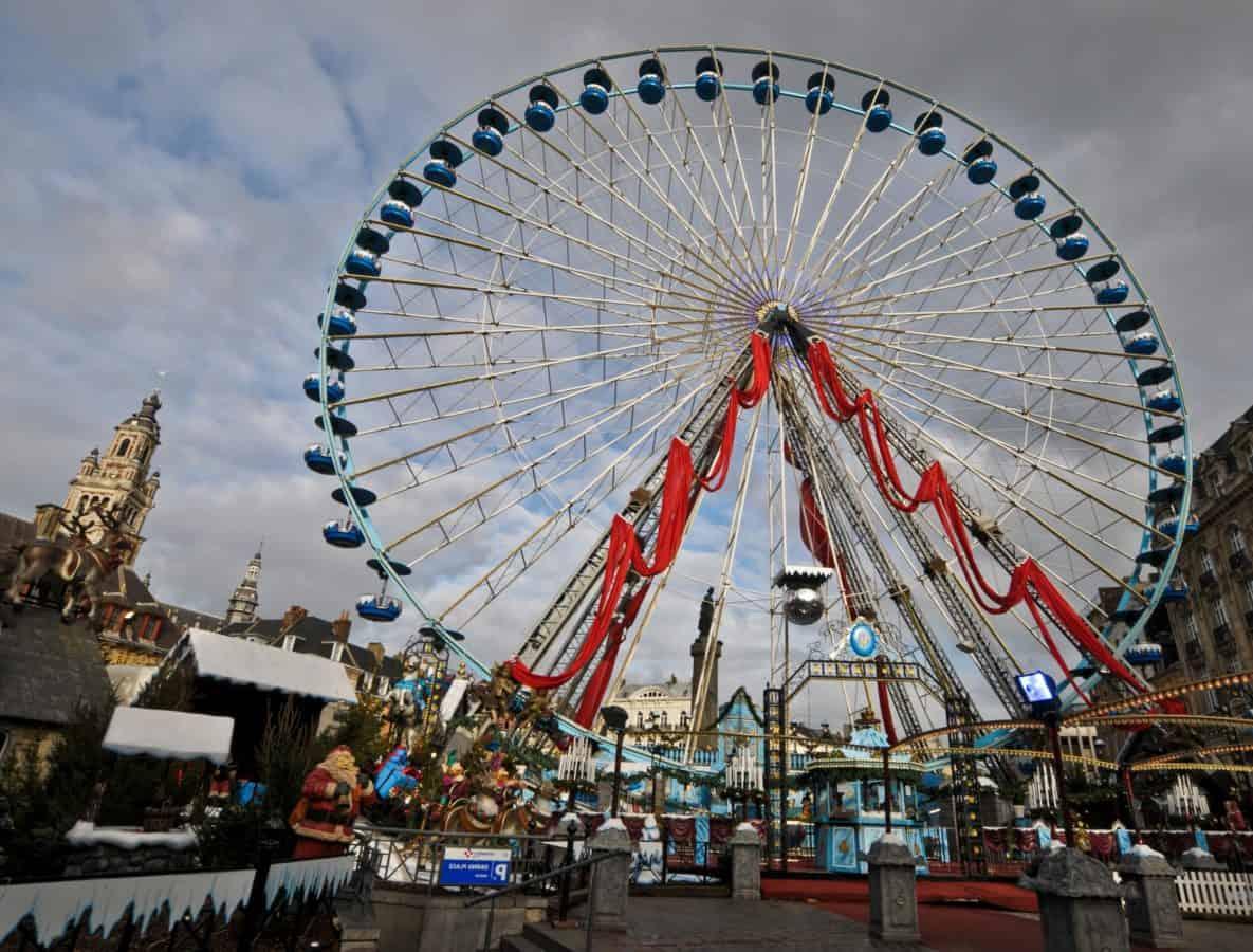 Carnaval, festival, ciudad, entretenimiento, cielo