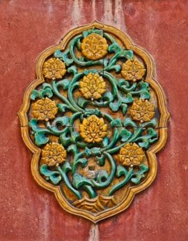 arte antiguo, Arabesque, antiguo, patrón, textura