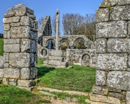 emlékmű, ősi, vallás, tönkre, építészet, kő, régi, fali