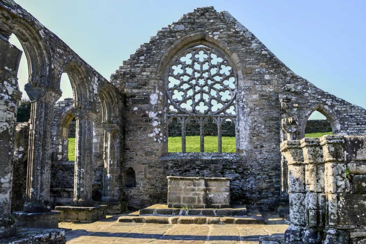 стари, архитектура, религия, камък, древни, църква, Открит
