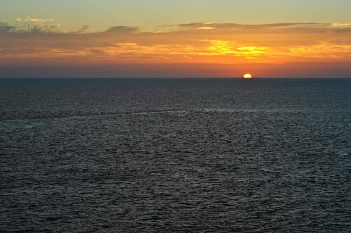 aube, coucher de soleil, mer, soleil, eau, océan, horizon, ciel en plein air,