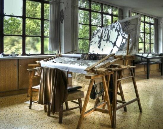 magasins de meubles, chaise, à l'intérieur, table, fenêtre, chambre, tissage, textile, bois d'artisanat