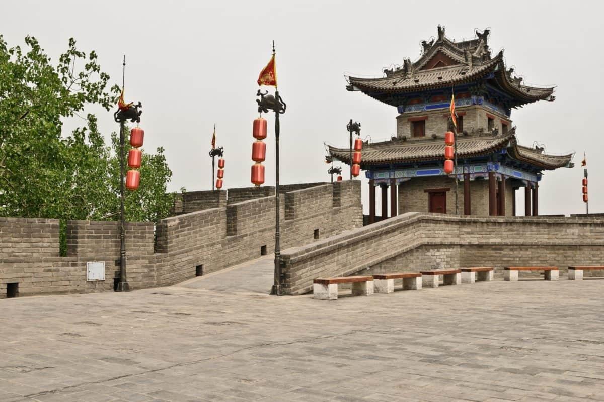Viaggi, Asia, Castello, attrazione turistica, architettura, Palazzo, residenza, Torre