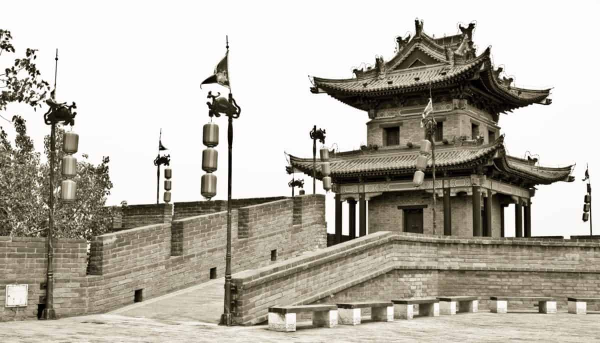 architecture, monochrome, castle, old, temple, palace, tower, sepia