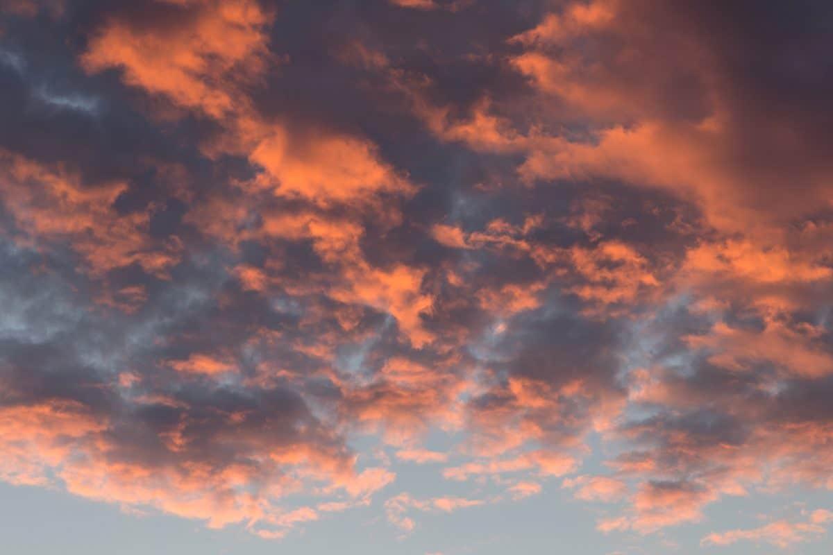 nature, coucher de soleil, ciel, atmosphère, nuages, nuageux, lumière du soleil de soleil,