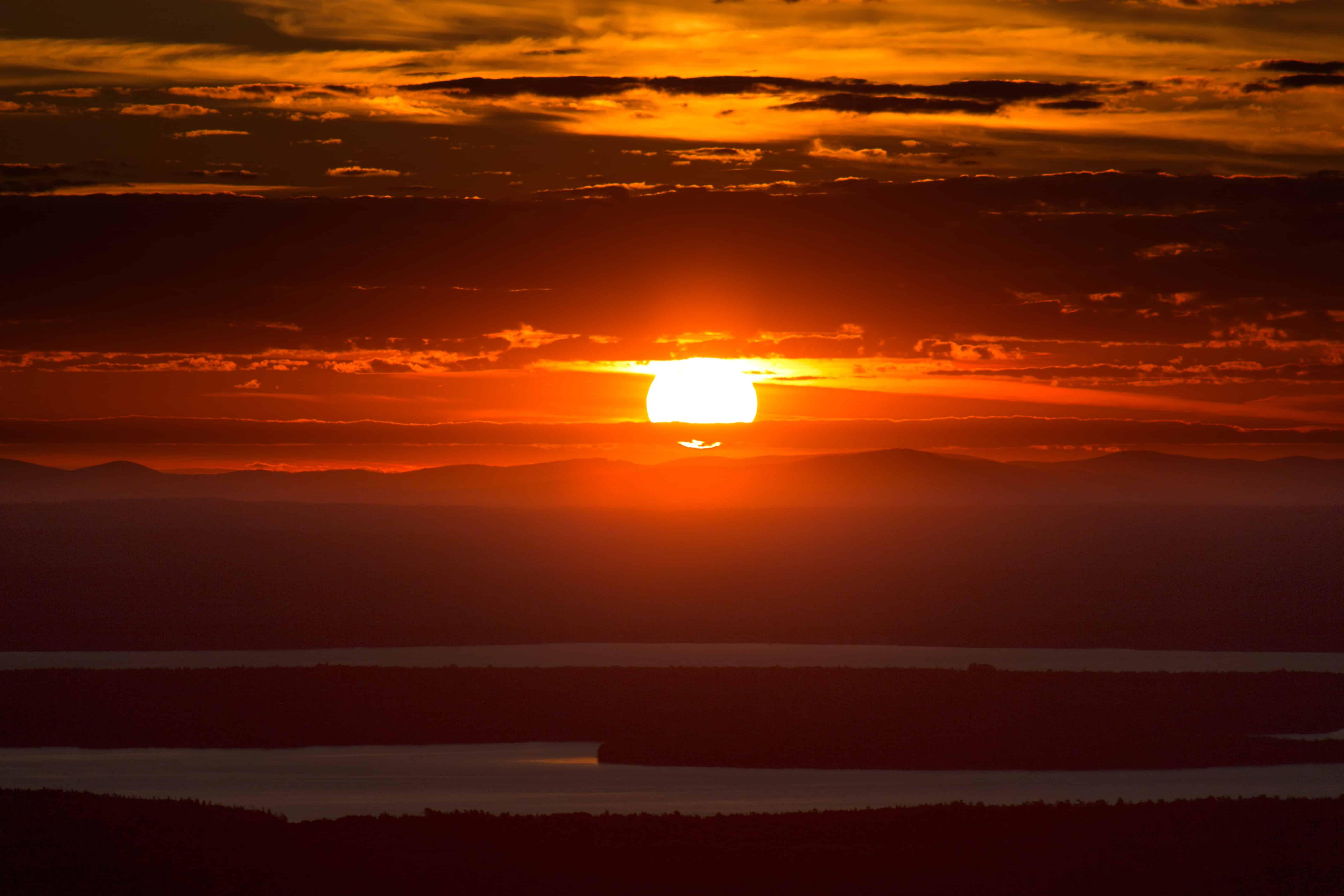Beautiful Landscapes Sunsets Sun