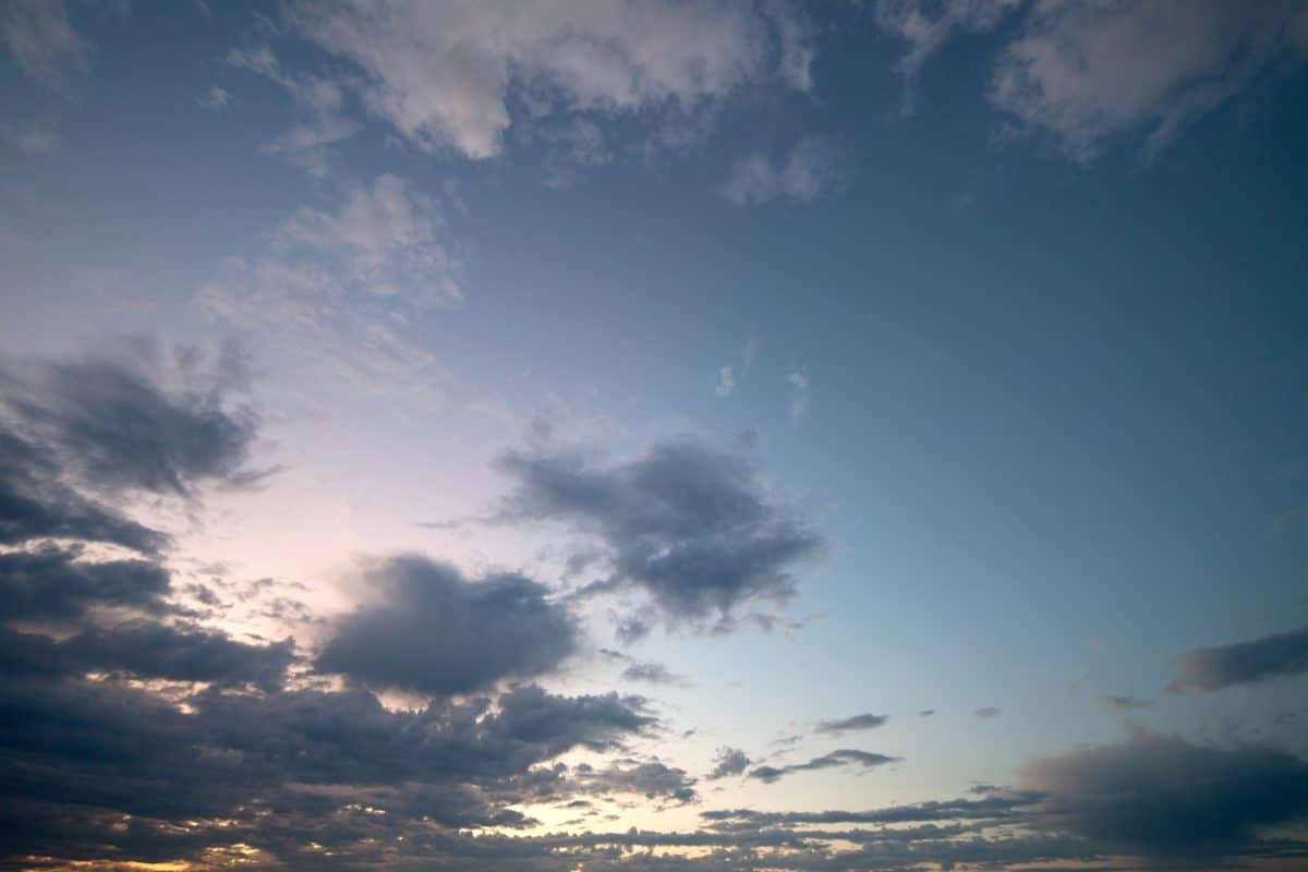 tramonto, paesaggio, cielo, sole, natura, luce, atmosfera