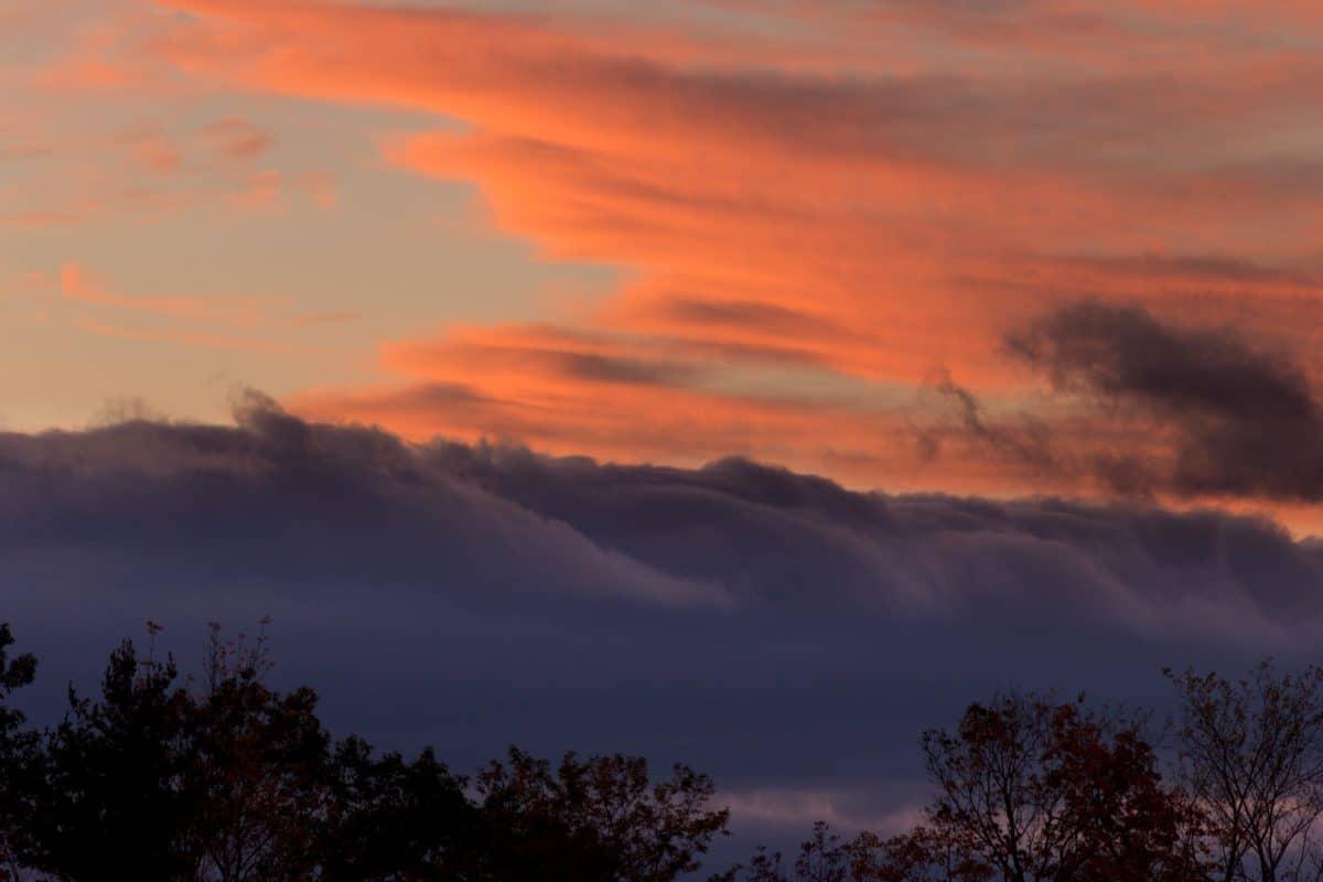 zalazak sunca, nebo, sunce, krajolika, prirode, sumrak, zora, atmosfera