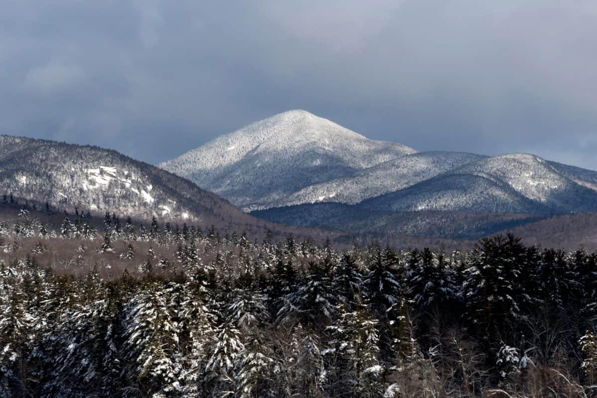 눈, 풍경, 자연, 하늘, 산, 겨울, 야외