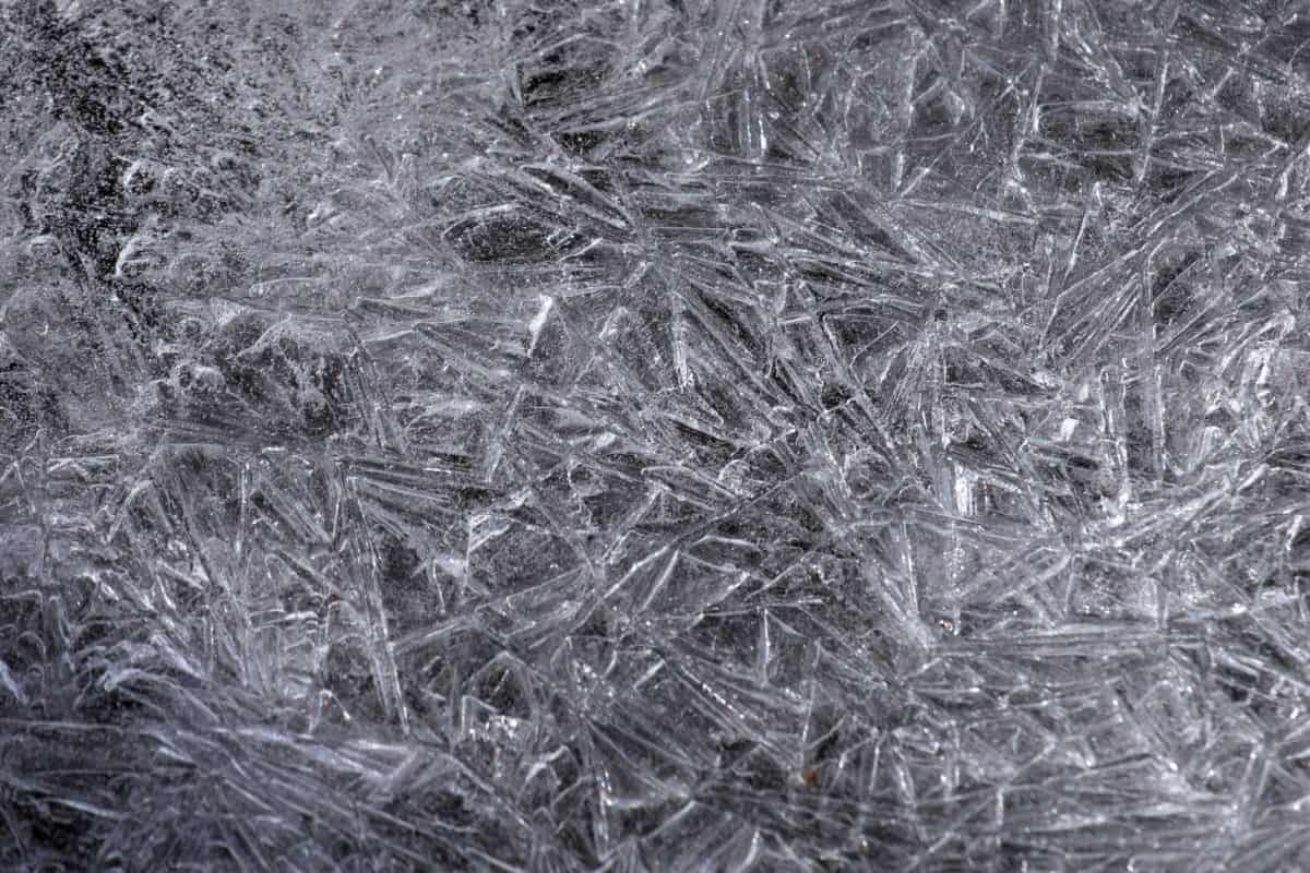 ice, crystal, snowflake, pattern, texture, abstract