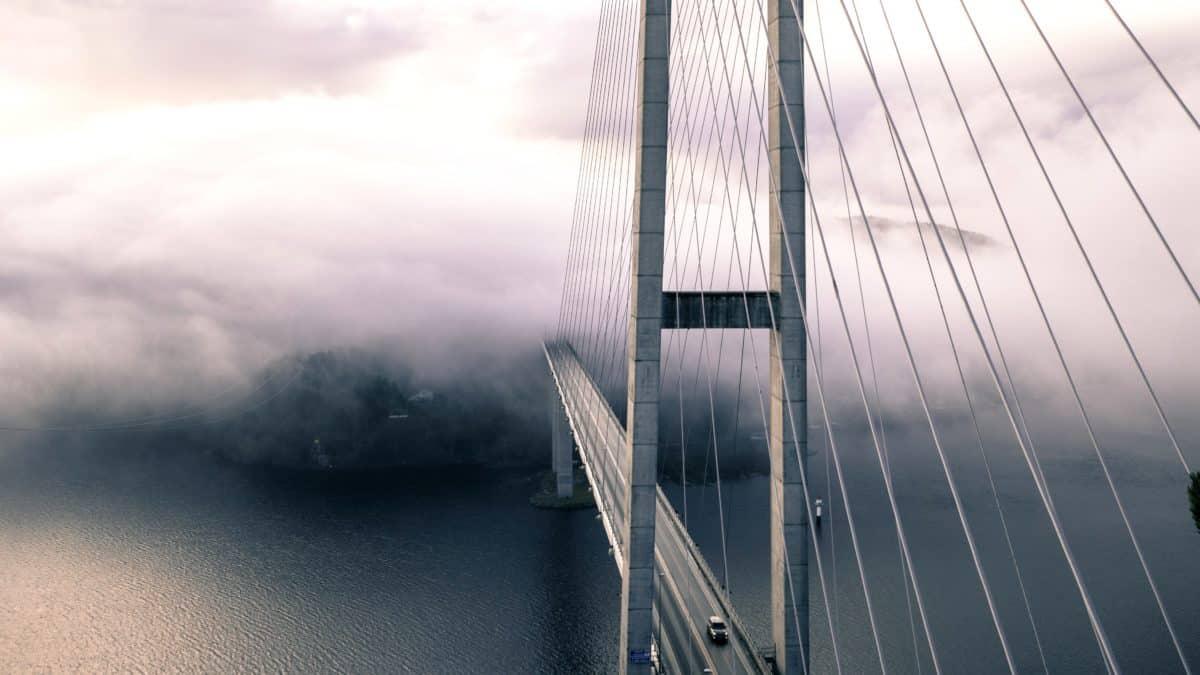 suspensão, céu, aço inoxidável, ponte, arquitetura, água, estrutura, cidade, ao ar livre
