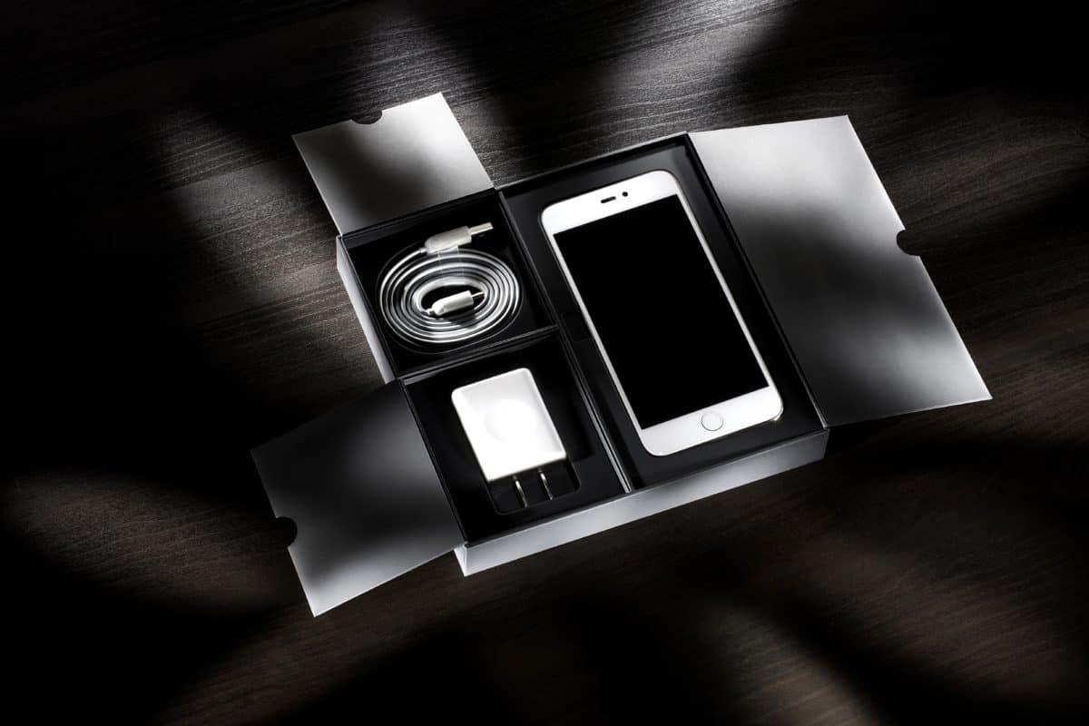 cellulare, ombra, oscurità, monocromatico, boc, regalo
