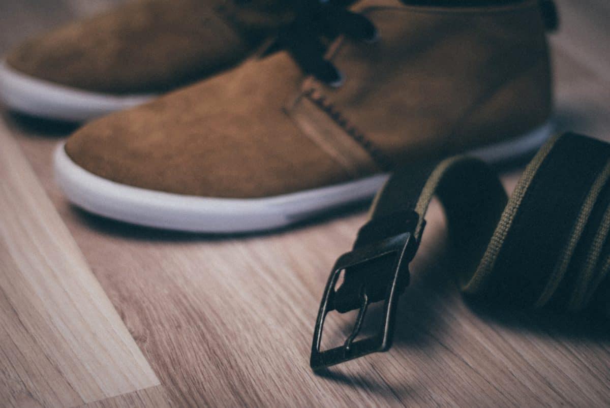 skodon, läder, mode, trä, golv, sko, inomhus