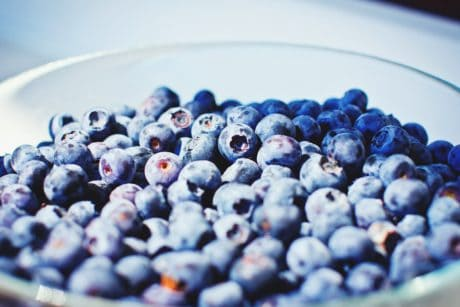 Berry, doux, bleuet, nutrition, aliments, fruits, alimentation