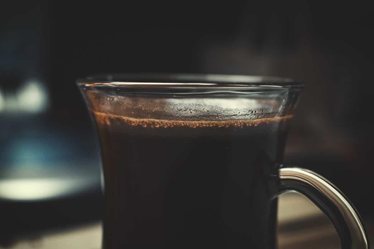 schiuma, bere, tazza, caffè, alba, bevande, caffè espresso, vetro