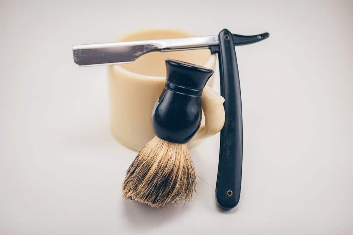 tworzywa sztucznego, stali nierdzewnej, ostrze, nóż, pędzla, narzędzia, farby, obiektu, kryty