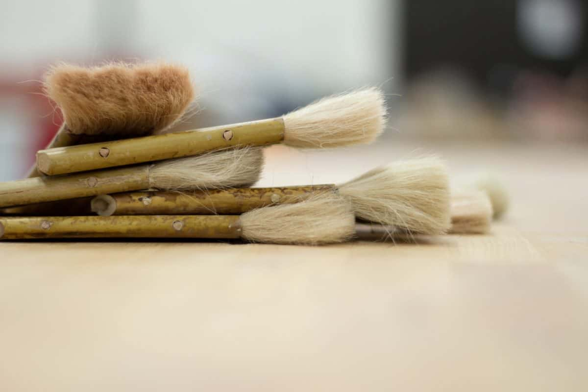 pincel, bellas artes, madera, madera, cepillo, escoba, herramienta