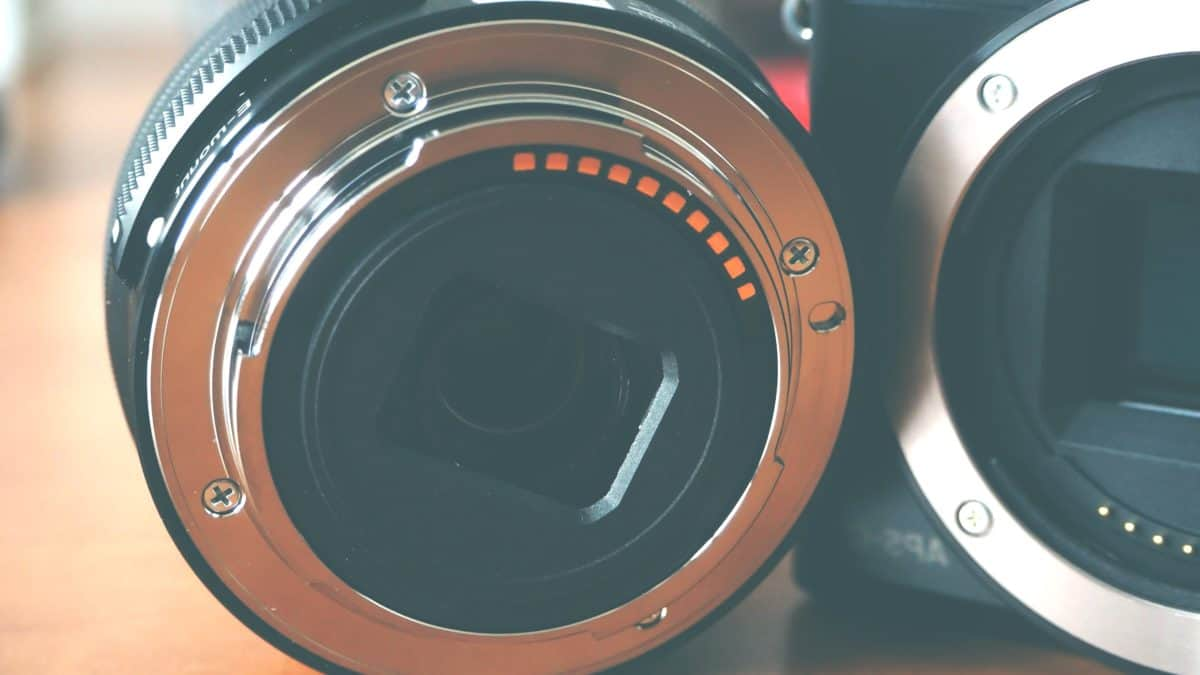 electronics, photo camera, lens, object, detail, zoom