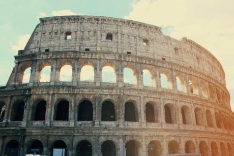stadium, ancient, architecture, Colosseum, amphitheater, monument
