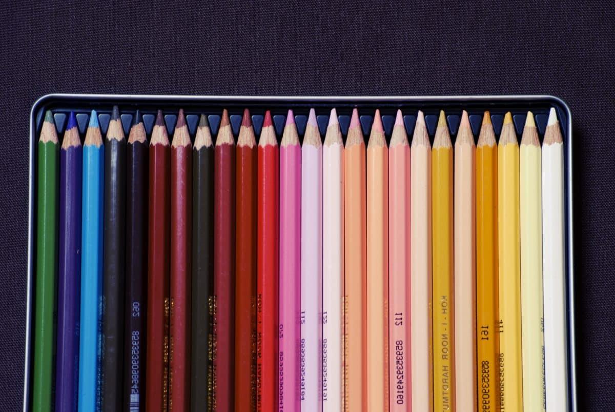 освіта, олівець, коледж, олівці, Веселка, мистецтва, барвисті