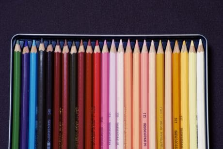 education, pencil, college, pencils, rainbow, art, colorful