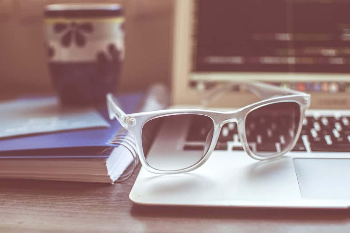 mode, intérieur, lunettes, lunettes de vue, objet, tableau