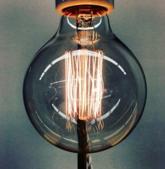 elettricità, lampada, luce, filo, tecnologia, vetro trasparente