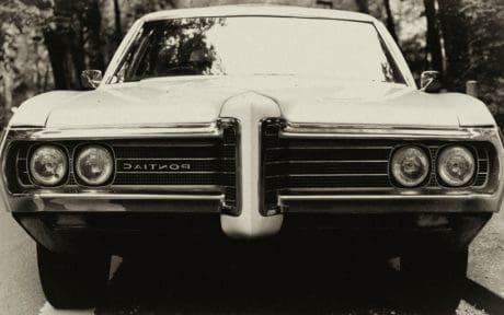 vehículo clásico, convertible, cromo, monocromo, nostalgia, retro, coche