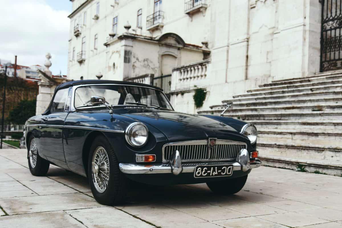 antique, oldtimer, voiture, véhicule, automobile, auto, cabriolet, transport