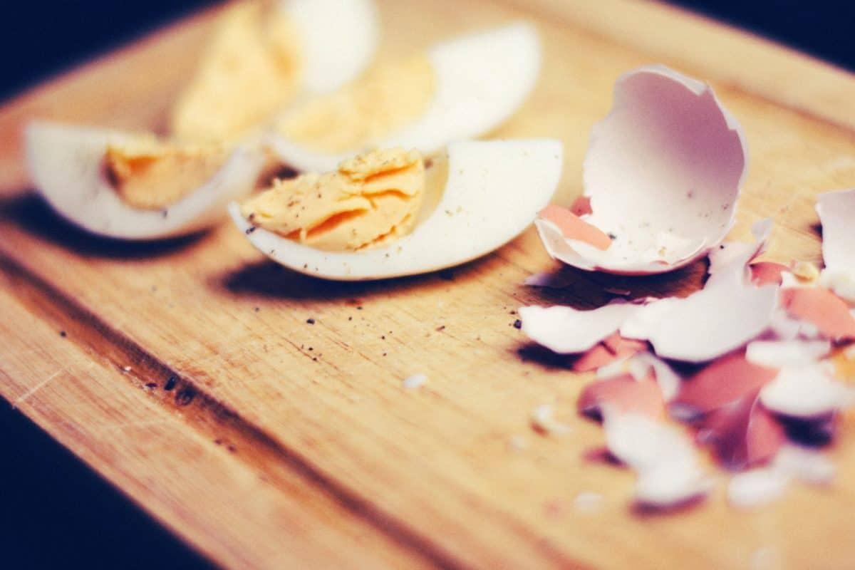 uovo tuorlo, guscio d'uovo, uova, cibo, pasto, cena, ristorante, piatto