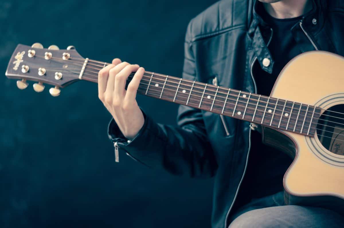 китарист, музикант, китара, концерт, звук, инструмент, музика