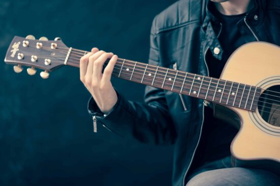гітарист, музикант, гітара, концерт, звук, інструмент, музика