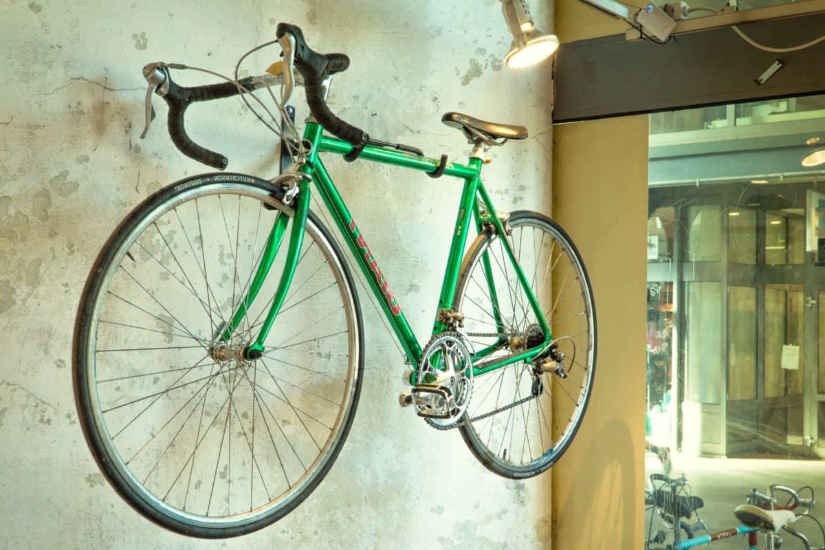 atelier, roues, vélo, parle, sport, mur
